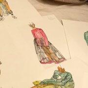 Kostümdesign Zeichnen für Kinder / Jugendliche