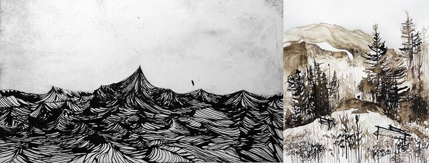 Landschaft Zeichnen für Jugendliche