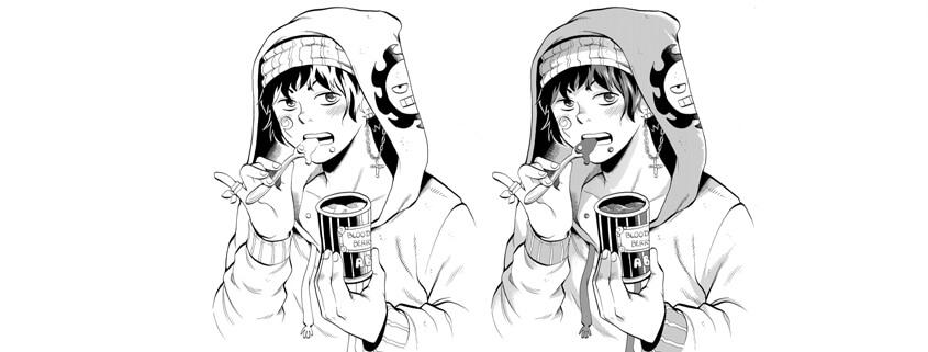 Manga Zeichnen im studio linea