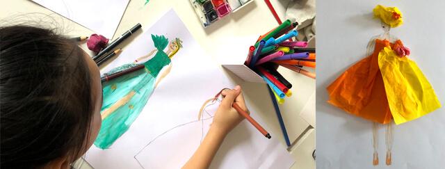 Modezeichnen für Kinder bei studio linea