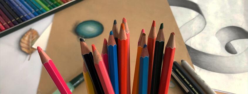 Zeichentechniken 1 - Kurs für Kinder und Jugendliche