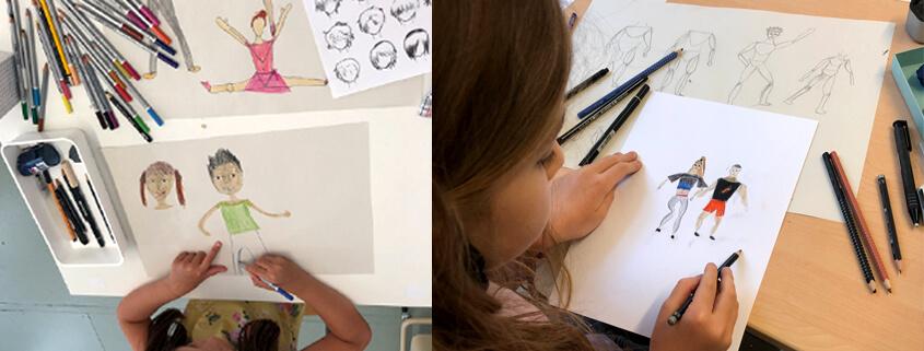 Figuren Zeichnen Kinder